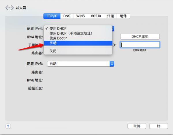 苹果Mac DNS怎么设置?