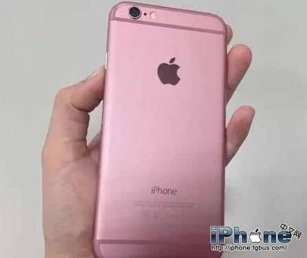 iPhone6S粉色版什么时候上市