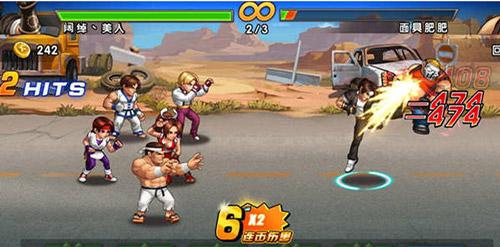 《拳皇98终极之战OL》英雄连击玩法详解