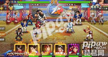 《拳皇98终极之战OL》第十六章大蛇的召唤怎么打
