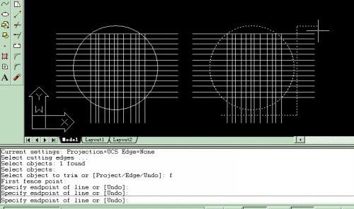 CAD裁剪范围外对象的方法和技巧