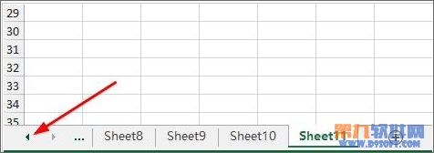 有颜有料!怎样在多个Excel工作表中快速跳转指定表