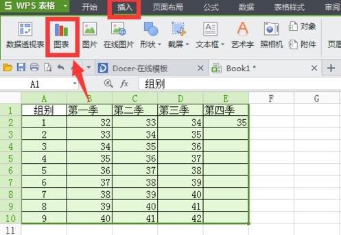 非常有意思!怎么将WPS表格数据制作成图表?
