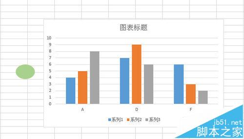 Excel图表怎么将柱形图表形状改变成心形显示?学学吧!