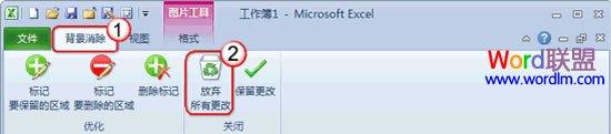 你知道吗?Excel2010 去除图片背景的方法