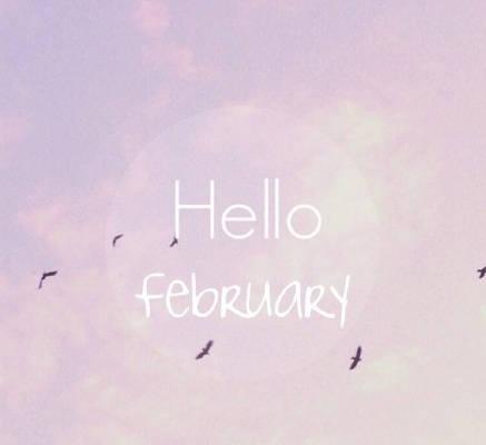 2018你好2月再见1月图片大全