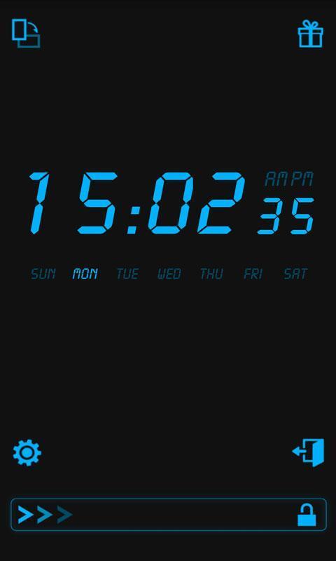 液晶时钟软件截图2
