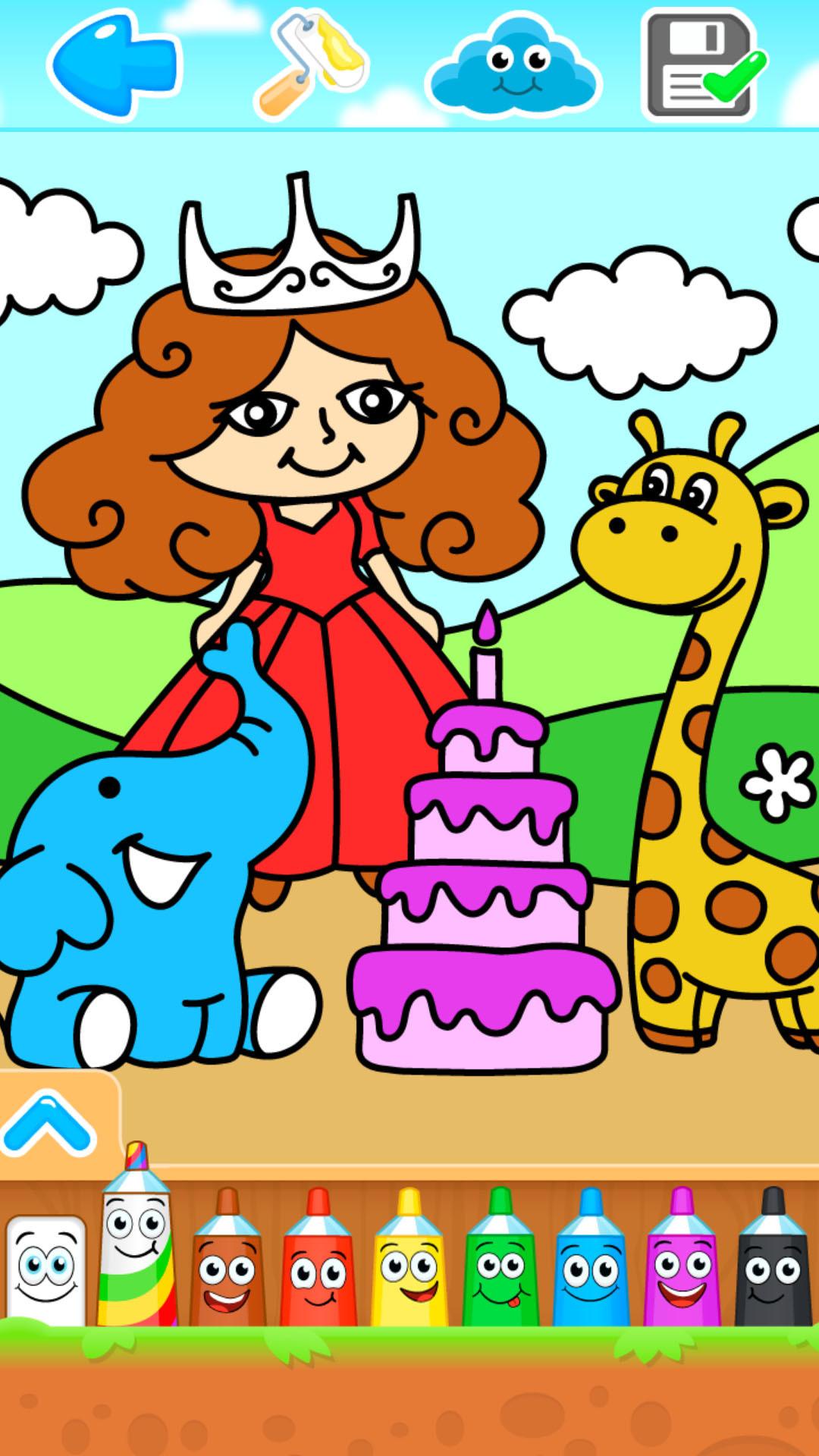 小公主画画世界软件截图0