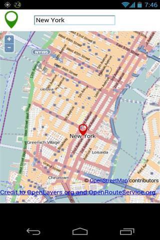 GPS地图软件截图0